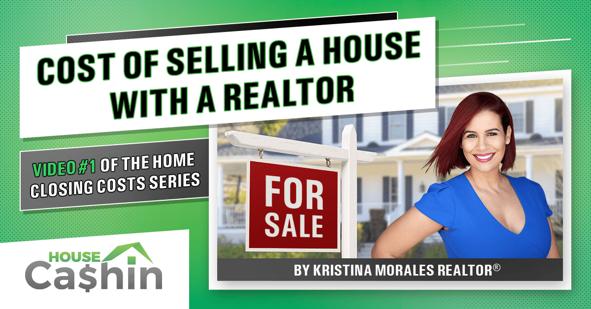 Cost of selling a home with a real estate agent (banner)
